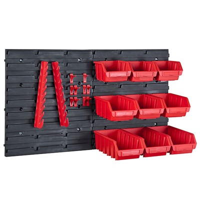 Wolf Workshop Organiser Storage Bins and Panel Set