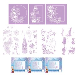 Disney Frozen Melded Dies and Stamps, Ch