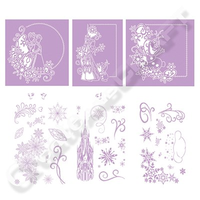Disney Frozen Melded Die and Stamp Range