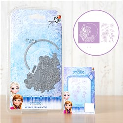 Disney Frozen Melded Elsa and Anna Dies with Stamp Set