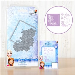 Disney Frozen Melded Olaf Scene Die with Stamp Set