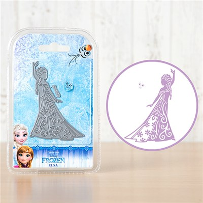 Disney Frozen Elsa Die and Face Stamp Set