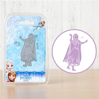 Disney Frozen Anna Die and Face Stamp Set