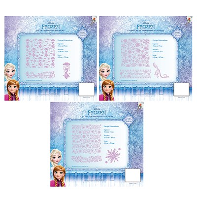 Disney Frozen Embossing Folder Range