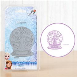 Disney Frozen Snow Globe Die and Sentiment Stamp