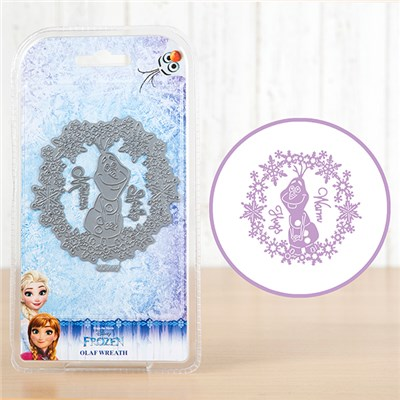Disney Frozen Olaf Wreath Die Set