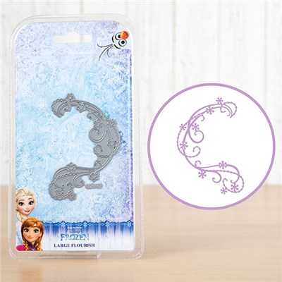 Disney Frozen Large Flourish Die