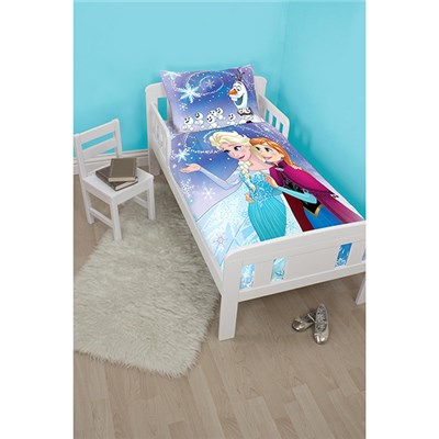 Disney Frozen Lights Junior Panel Duvet Set