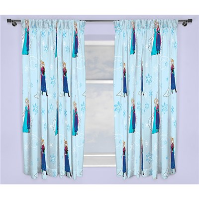 Disney Frozen Lights 72 Inch Curtains