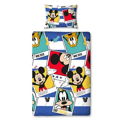 Disney Mickey Mouse Polaroid Single Rotary Duvet Set