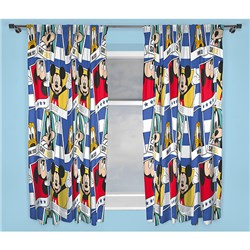 Disney Mickey Mouse 72 Inch Curtains