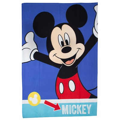 Disney Mickey Mouse Smiles Fleece Blanket