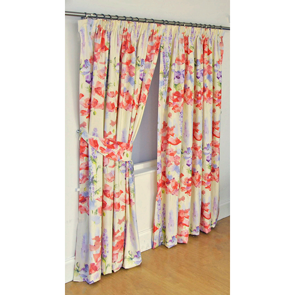Wendy Tait Ariel 46 in W Lined Curtains No Colour