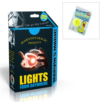 Marvins Magic Lights from Anywhere with Bonus Magic Worm