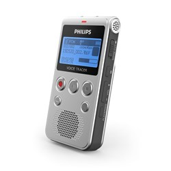 Philips Voice Tracer DVT1300 Voice Recorder with Dragon Naturally Speaking Transcription Software