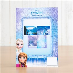 Disney Frozen A5 Backing Paper Pad