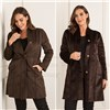 Stolen Heart Reversible Faux Astrakhan Coat