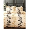 Marlow Double Duvet Cover Set Black/Gold