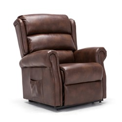 Birlea Natural Collection Upholstered Rise and Recliner