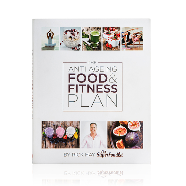 The Anti Ageing Food and Fitness Plan by Rick Hay with Yoogaia 30 Days FREE Voucher No Colour