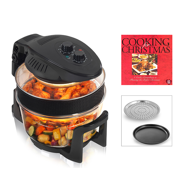 Cookshop 12L Halogen Oven with Book