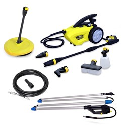 Wolf Mighty with Sky Reacher with Drain Cleaning Kit and Patio Cleaner