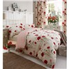 Red Poppies King Duvet Cover Set No Colour