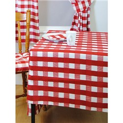 Chamonix Check Tablecloth 128 x 178cm and 4 Napkins