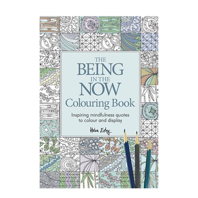 Being in the Now Colouring