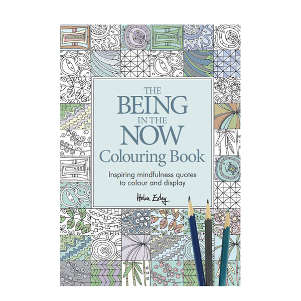 Being in the Now Colouring No Colour