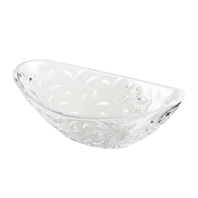RCR Laurus Crystal Oval Centrepiece