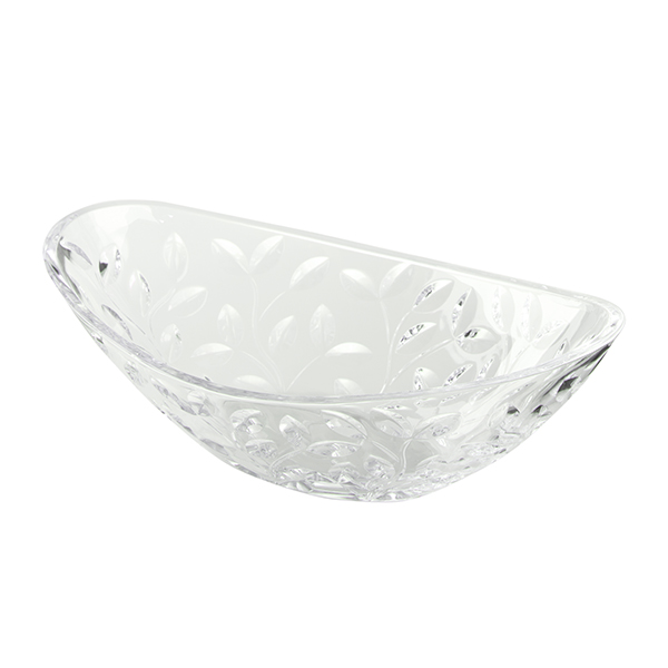 RCR Laurus Crystal Oval Centrepiece No Colour