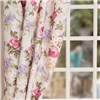 Chatsworth Floral Tape Header Curtains No Colour
