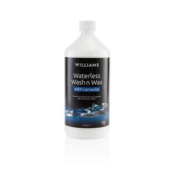 Williams Waterless Wash and Wax Car Cleaner Refill 1 litre No Colour