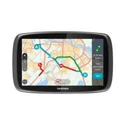TomTom GO 50 Sat Nav with Western European Maps, 3D Maps, Lifetime Traffic