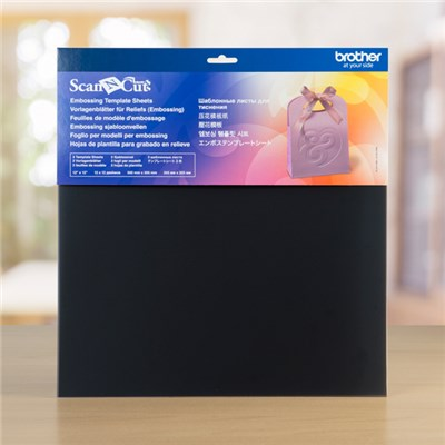 Brother ScanNcut Embossing Template Sheets - 3 12x12 Sheets