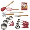 Cake Boss 7 Piece Essential Utensil Set With Free Baking With The Cake Boss Recipe Book