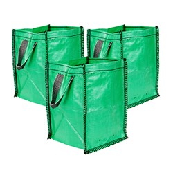 Set of 3 x 45L All Purpose Garden Tidy Bags