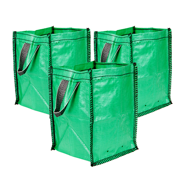 Set of 3 x 45L All Purpose Garden Tidy Bags No Colour