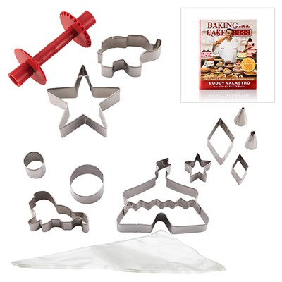Cake Boss Cake Kit Circus With Free Baking With The Cake Boss Recipe Book