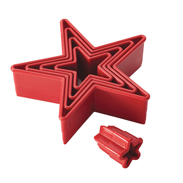 Image of Cake Boss 5 Piece Star Cutters 383890