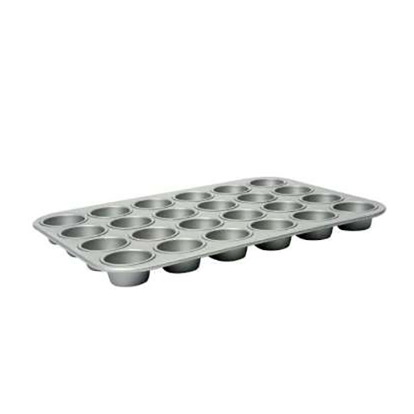 24 Cup Mini Muffin Tray No Colour