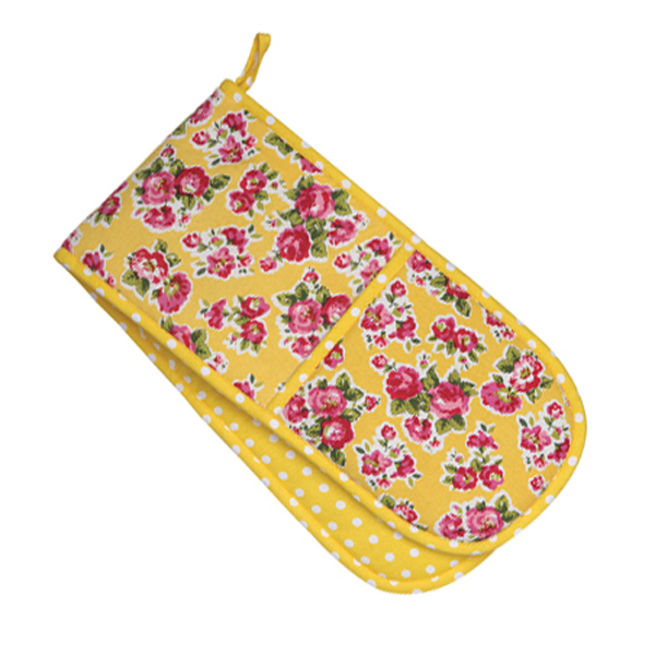 Double Oven Glove Lemon
