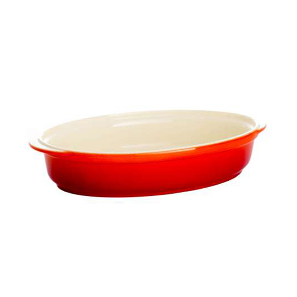 Oven to Tableware Oval Dish Chilli No Colour