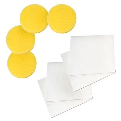 Shadazzle Extra Shine Bundle - 4 Extra Applicators and 4 No Streak Cloths