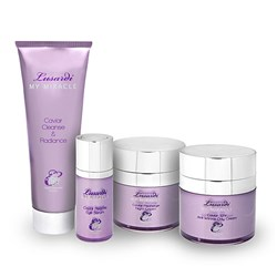 Gifts Lusardi My Miracle Caviar 12hr Anti-Wrinkle Day Cream 50ml, Recharge Night Cream 50ml, Restore Eye Serum 15ml and Cleanse and Radiance 120ml