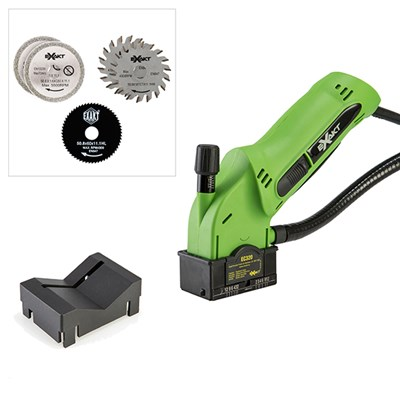 Exakt EC320 Hand Saw with 5 Blades and V-Guard Attachment