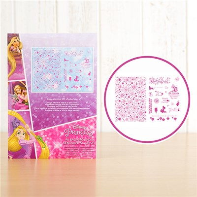 Disney Princess Rapunzel 2 Stamp Sets