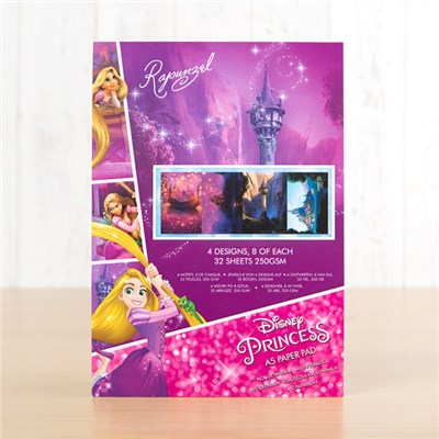 Disney Princess Rapunzel Backing Paper Pad