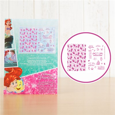 Disney Princess Ariel 2 Stamp Sets